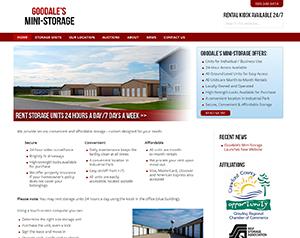 Goodale's Mini-Storage Launches New Website